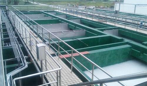 关于电镀厂污水处理排放中消泡的问题